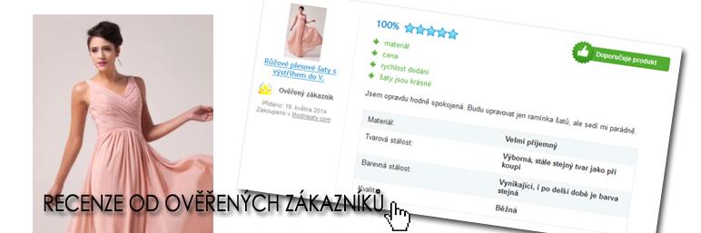 recenze šatů