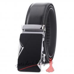 Pánský kožený pásek - Black star