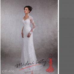 Vel. 32.- Svatební šaty Brita
