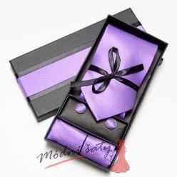 Pánská kravata fialová