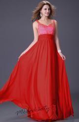 Dlouhé šaty s korálky a flitry