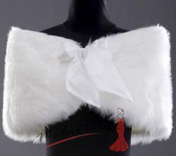 Šátek přes ramena ke svatebním šatům