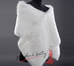 Kabátek ke svatebním šatům