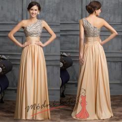 Vel. 32.- Elegantní společenské šaty zlaté