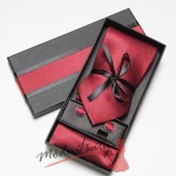 Pánská kravata červená