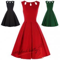 Letní šaty se slzičkami