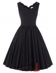 Romantické letní šaty s volnou sukní