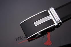Pánský kožený pásek - Black