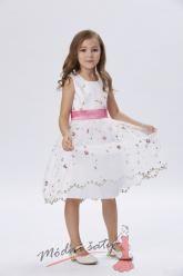 Šaty pro malou družičku s drobnými květinkami