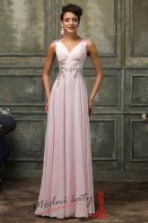 Plesové šaty s holými zády - více barev