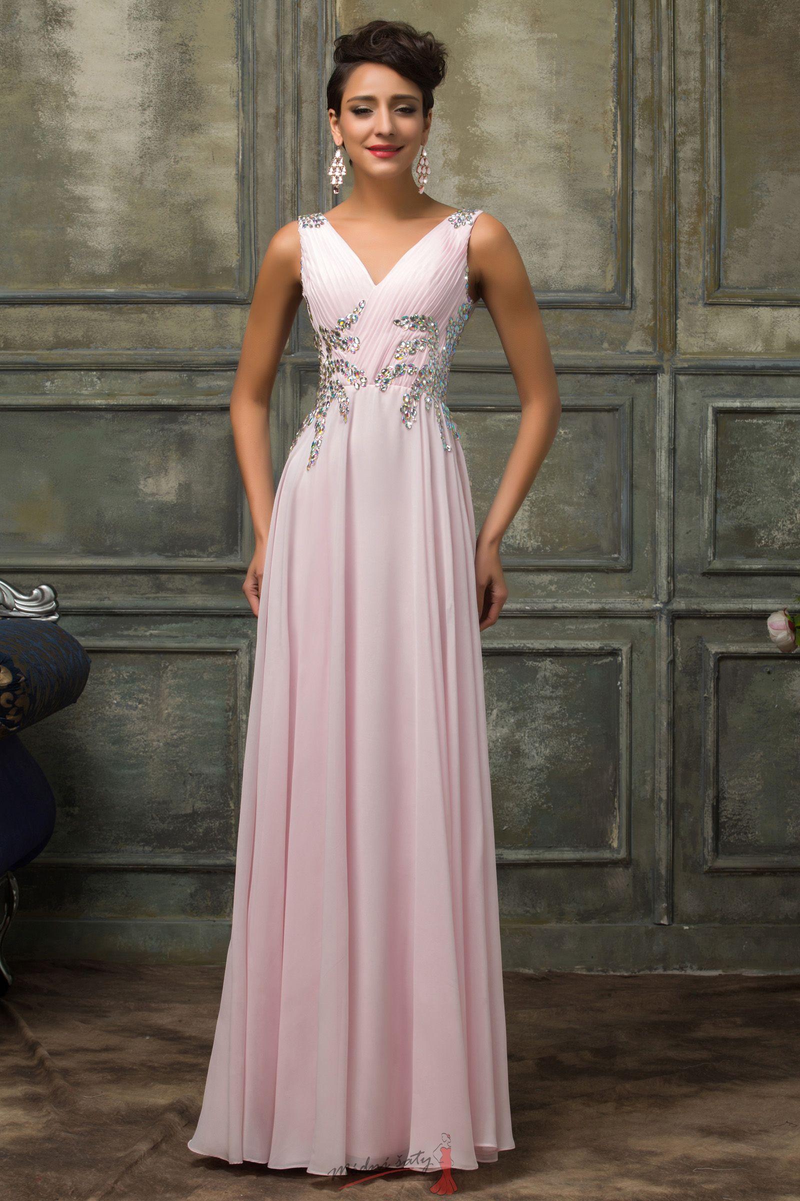 2200fcc949e4 Plesové šaty s holými zády - více barev