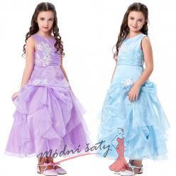 Princeznovské šatičky pro holčičky