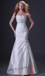 Úzké šaty s rozšiřující se sukní - více barev