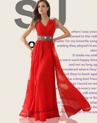 Společenské šaty s páskem – více barev