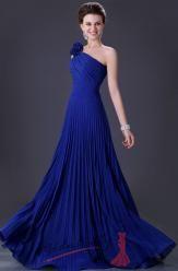 Plesové šaty se skládanou sukní a květinou – více barev