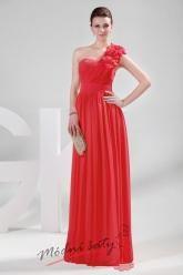 Plesové šaty s květinou - více barev