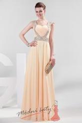 Srdíčkové plesové šaty ve více barvách.
