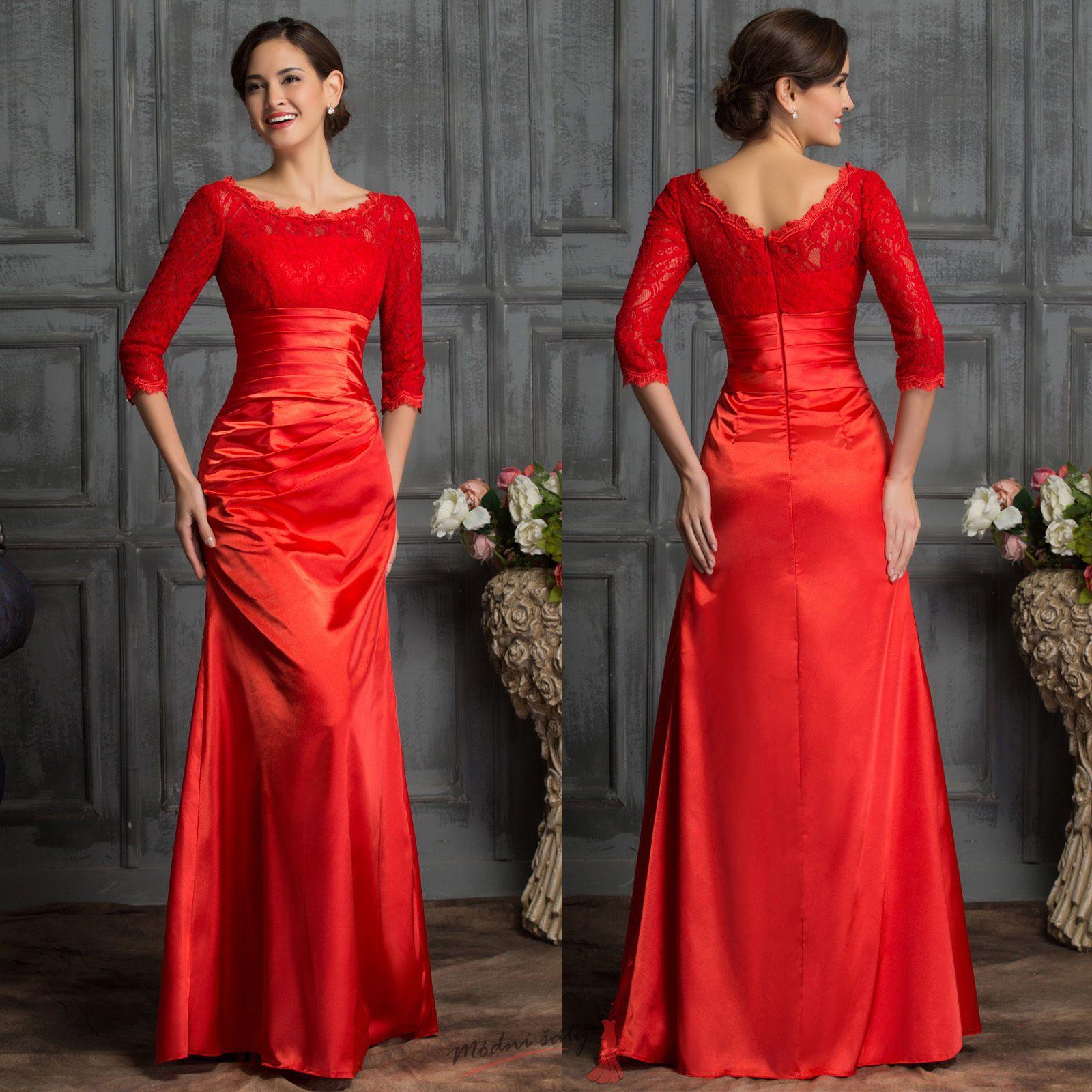 Černé krajkové večerní šaty. 14fb7e45016