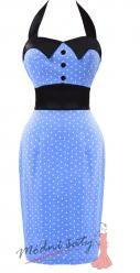 Retro úzké šaty s puntíky - více barev