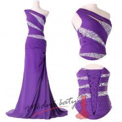Dlouhé plesové šaty bez rukávů - více barev
