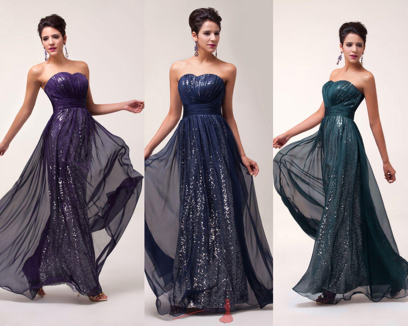 a3b00c6e1fc Třpytivé šaty s flitry tmavě modré