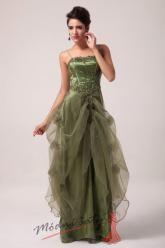 Společenské šaty s nabíranou voálovou sukní