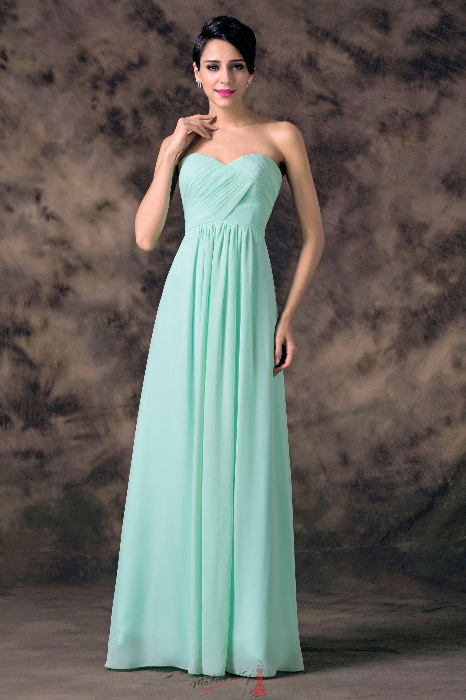 Tyrkysové plesové šaty ec386565a2