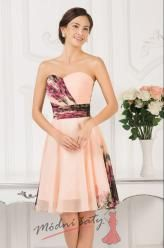 Vel. 36.- Květinové koktejlové šaty