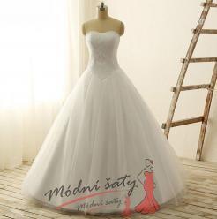 Vel. 40.- Svatební šaty Monica