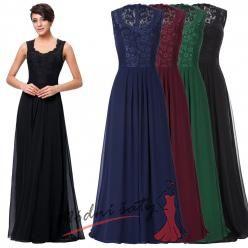 Plesové šaty s krajkovým vrškem