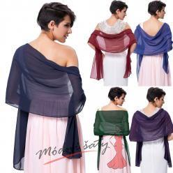 Lehký šál přes ramena k šatům