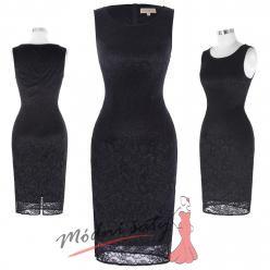 Uplé krajkové šaty