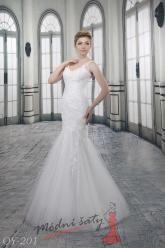 Svatební šaty Angelina - nadměrné velikosti