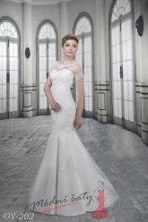 Svatební šaty Anna - nadměrné velikosti