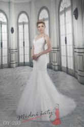 Svatební šaty Ariel - nadměrné velikosti