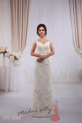 Svatební šaty Bianca - nadměrné velikosti