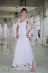 Svatební šaty Aida - nadměrné velikosti