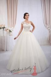 Svatební šaty Brenda - nadměrné velikosti