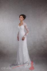 Svatební šaty Brita - nadměrné velikosti