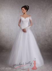 Vel. 38.- Svatební šaty Camila