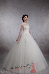 Svatební šaty Carla - nadměrné velikosti