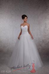 Svatební šaty Catarina  - nadměrné velikosti