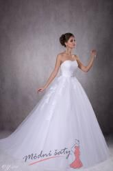 Svatební šaty Diana - nadměrné velikosti
