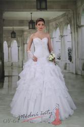 Svatební šaty Albina - nadměrné velikosti