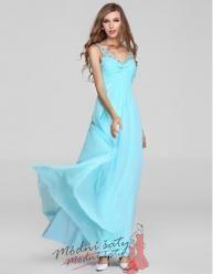 Vel. 36.- Zářivé plesové šaty s kamínky