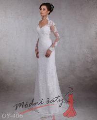 Vel. 36.- Svatební šaty Brita