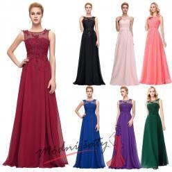 Večerní šaty s krajkou ve více barvách  vel. 48 až 54