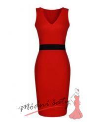 Červené nebo modré uplé šaty